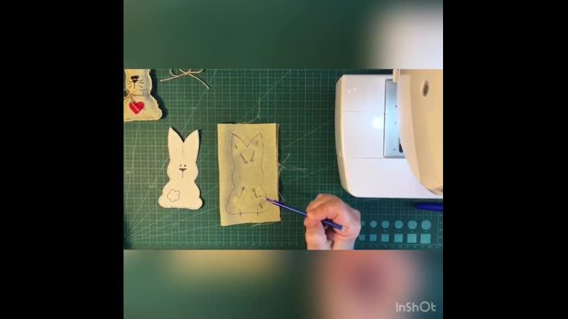 МК Пасхальный кролик процесс