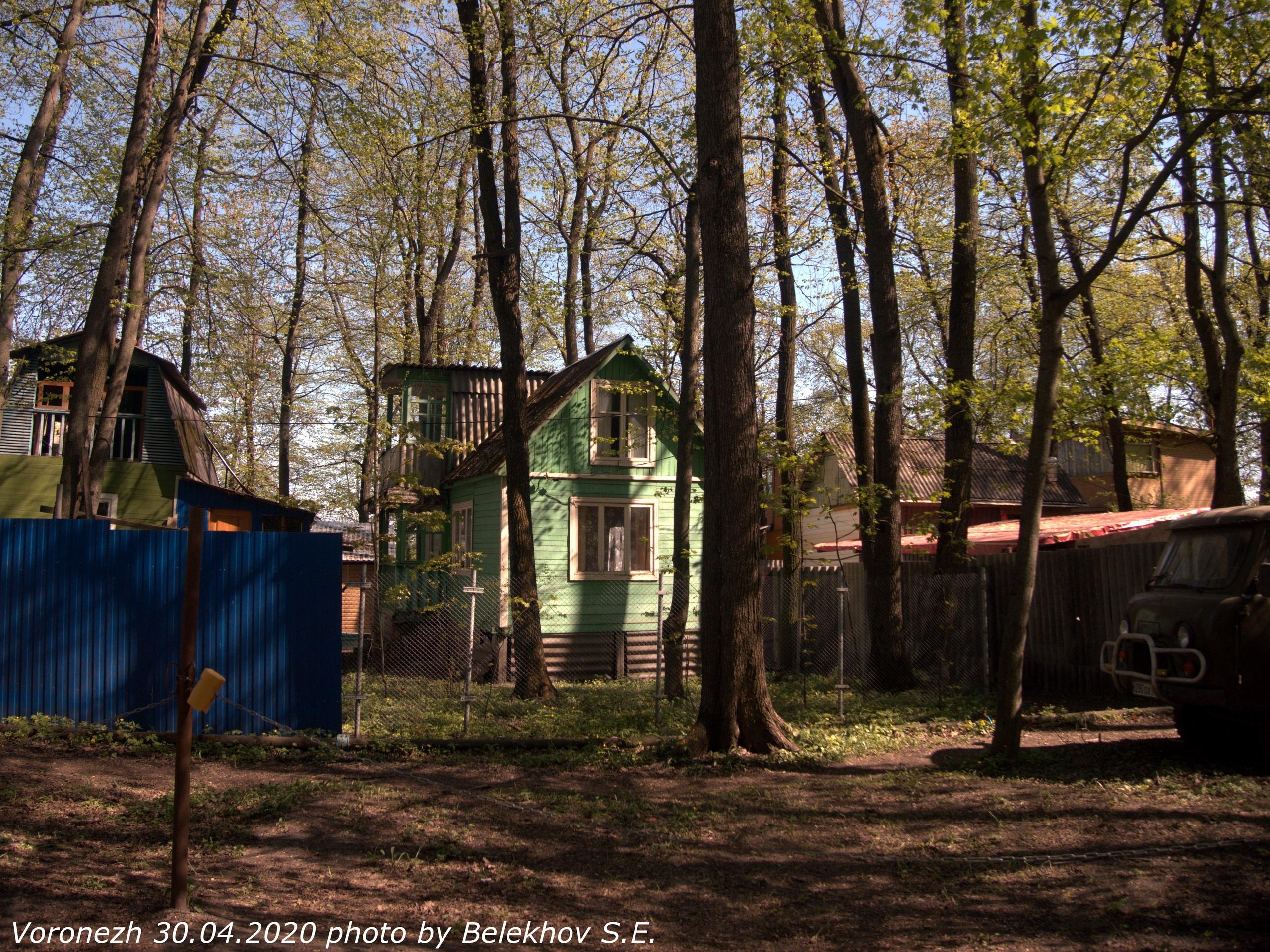 Воронеж, весна, Олимпик