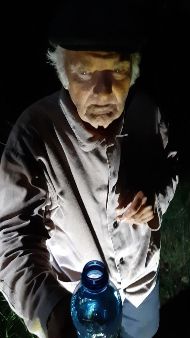 Очередная заявка, дедушка в лесу!