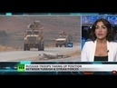 (6599) Russian troops enter NE Syria to fill 'security gap' left by US - YouTube