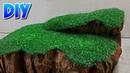 Como fazer grama para maquetes e dioramas.