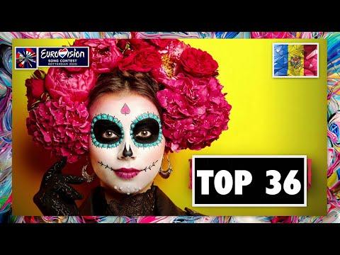 TOP 36 | O MELODIE PENTRU EUROPA 2020 | EUROVISION 2020 | MOLDOVA
