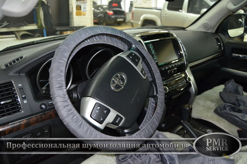 Комплексная шумоизоляция Toyota Land Cruiser 200, изображение №32