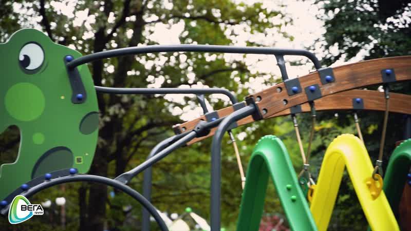 Детский игровой спортивно-развивающий комплекс Динозавр СРО180 производства компании ВегаГрупп