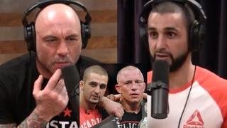 Фирас Захаби о том, как Жорж Сен-Пьер защищал титул чемпиона UFC с сотрясением мозга