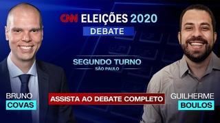 COVAS X BOULOS: ASSISTA AO PRIMEIRO DEBATE DO SEGUNDO TURNO DE SÃO PAULO