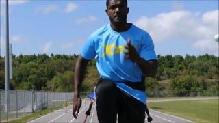 Justin Gatlin Training