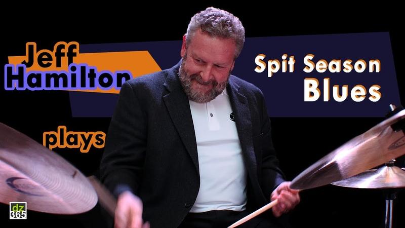 Jeff Hamilton Trio recording 'Spit Season Blues' in the studio Remo Sandlane Sessions 4
