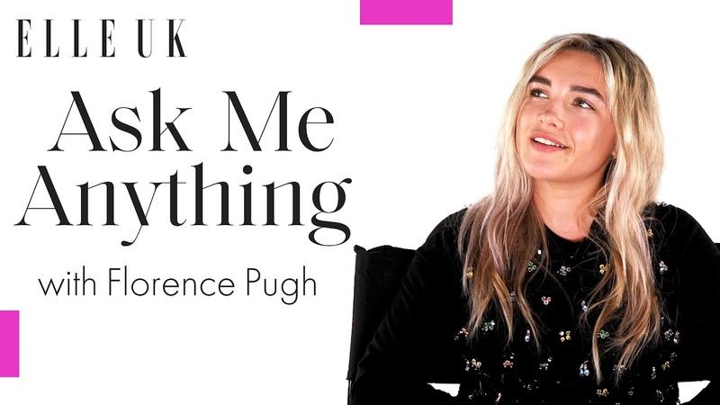 Florence Pugh On Her Biggest Fan Girl Moment And Most Memorable Red Carpet Look ELLE UK