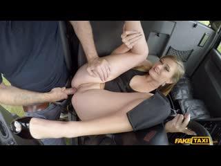 Honour May - Posh Totty Pussy Pounding - Porno, Blowjob, Blonde, Natural Tits, POV, Car, Fake Taxi, Porn, Порно