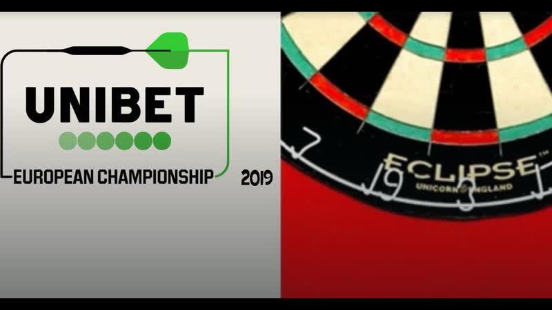 1. European Darts Championship 2. Бокс. Daniele Scardina vs Ilias Achergui 3. European Darts Championship