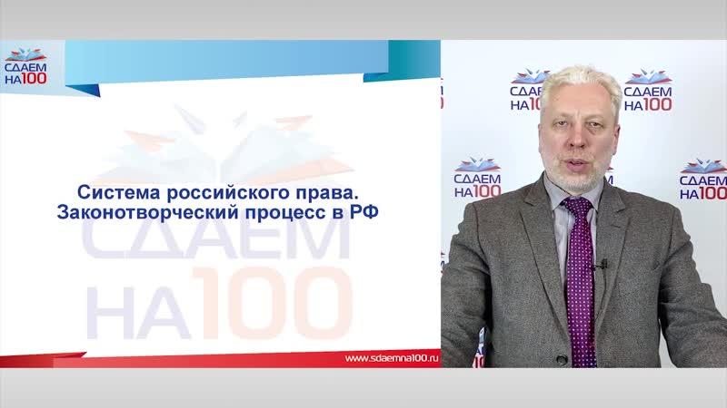 5 2 Система российского права Часть 1