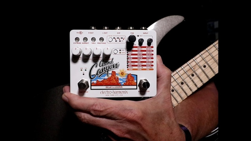 Electro-Harmonix Grand Canyon Delay Looper