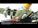 New FMS P-47 Brushless Warbird with Retracts P47 Thunderbolt