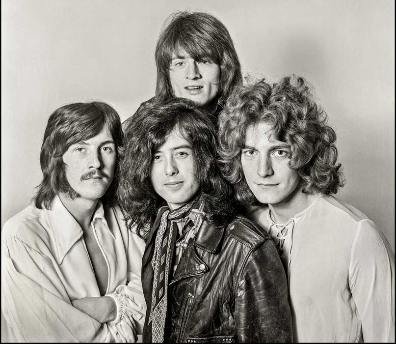 12 августа 1968 года Джимми Пейдж, Роберт Плант, Джон Пол Джонс и Джон Бонэм впе...