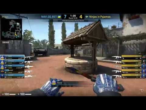 CSGO POV Demo NaVi Flamie (2812) vs NiP (de_inferno)