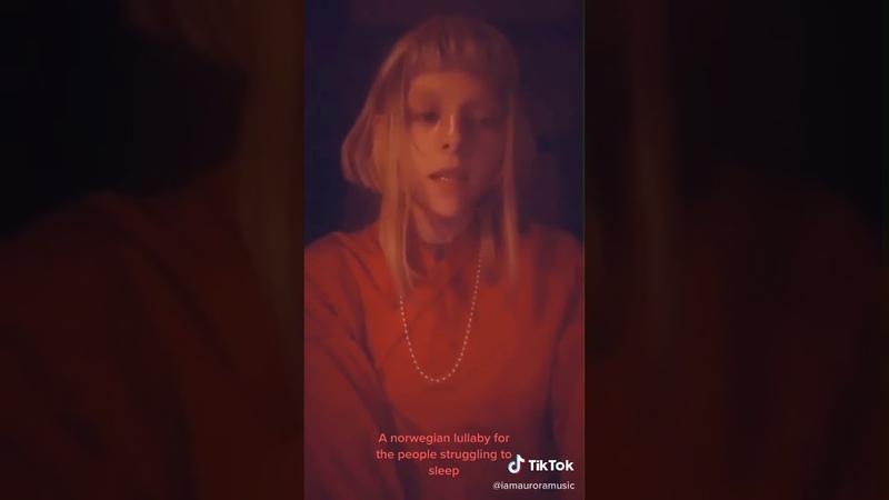 Aurora Aksnes singing a norwegian lullaby ❦ (Vi har ei tulle med øyne blå)