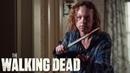Beta Stalks Gamma FULL SCENE — «The Walking Dead» Season 10B Episode 10.