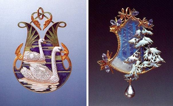 160 лет назад родился ведущий художник-ювелир, законодатель стандартов ар-нуво Рене Лалик. Подготовили интересные факты о гении ювелирного дела. 1) Лалик сочетал несочетаемое: в его украшениях