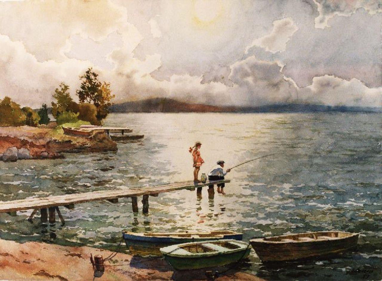 Семёнов Б., «Юный рыболов» 1979