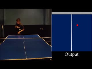 FuturePong- Real-time Table Tennis Trajectory Forecasting using Pose Prediction Network
