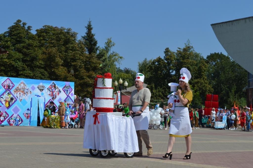 Четвертый районный конкурс для всей семьи «Парад колясок».