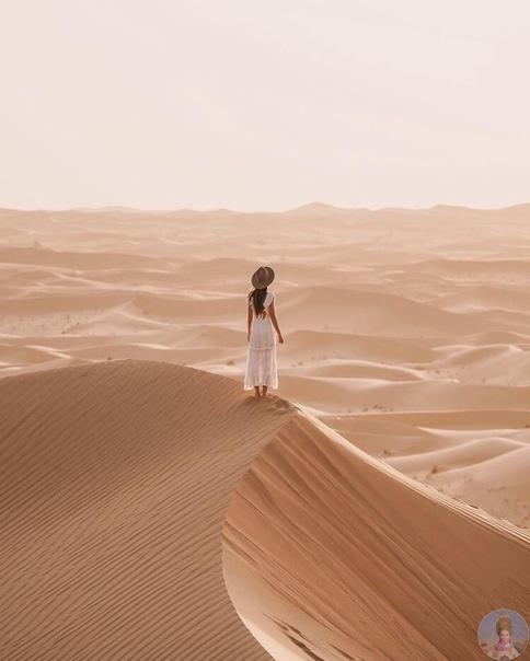 Пустыня в Дубаи