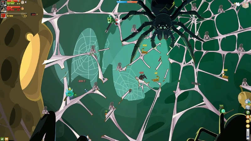 Вормикс Самое быстрое прохождение Королевы пауков на YouTube НЕ РАЗРУШАЯ СКОРПИОНОВ