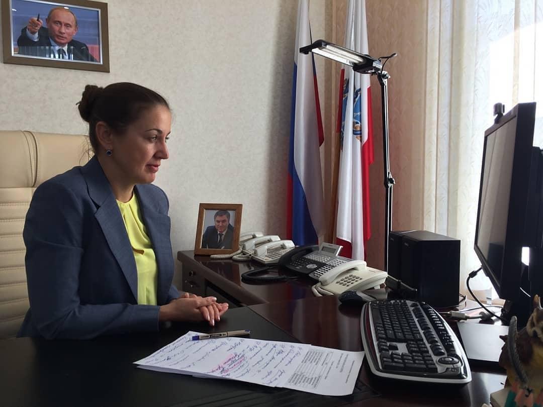 Министр образования Саратовской области Ирина Седова призвала снизить учебную нагрузку по непрофильным предметам на период дистанционного обучения