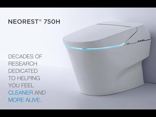 Электронный японский унитаз с функцией биде Toto Neorest 750H