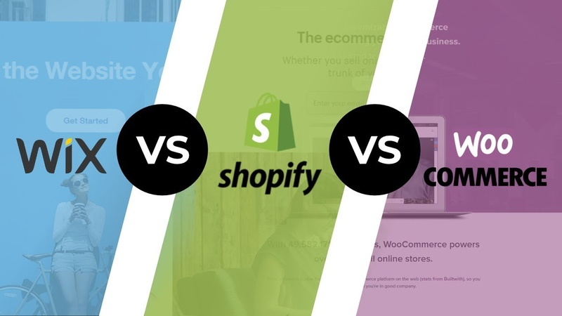 Wix Vs Shopify Vs WooCommerce Top eCommerce Platforms In 2019