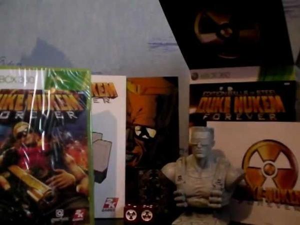 Duke Nukem Forever unboxing de lédition Balls of Steel sur Xbox 360