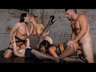 (Deeper) Angela White, Lena Paul, Alina Lopez & Autumn Falls - Bargaining