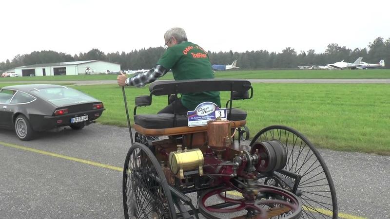 Benz Patent Motorwagen No 1 in Action