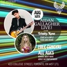 """Aidan R Gallagher on Instagram: """"Who's coming Toronto? 🇨🇦 @thehideouttoronto Saturday, August 10. 430pm to 8pm All ages - No Cover - Free show The..."""