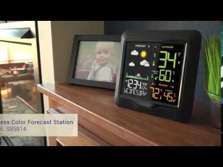 La Crosse Wireless Color Weather Forecast Station