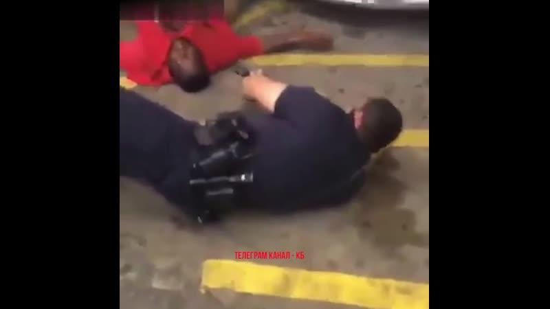 Nego baleado policia