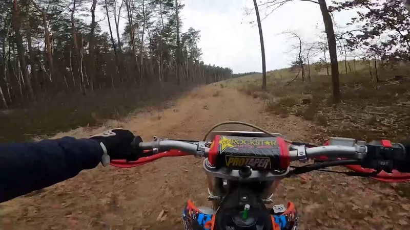 2 I ride a motorcycle around the forest and relax part 1