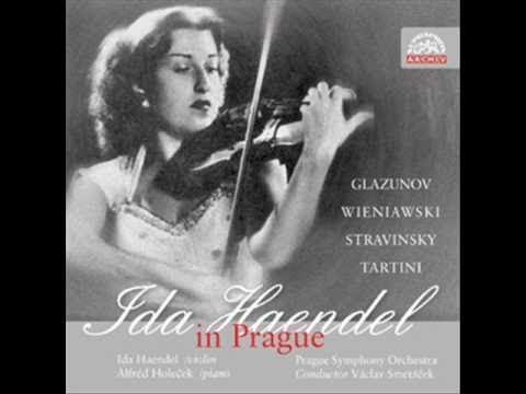 Ida Haendel Tartini sonata Devil's Trill 1 2 3 Prague