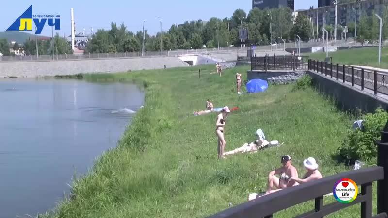 Спасатели провели на городском озере профилактический рейд