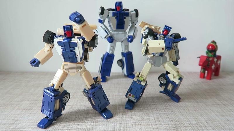 小不高兴和他的小伙伴们——X-Transbots MX-XIII-T Crackup 打击 青春版