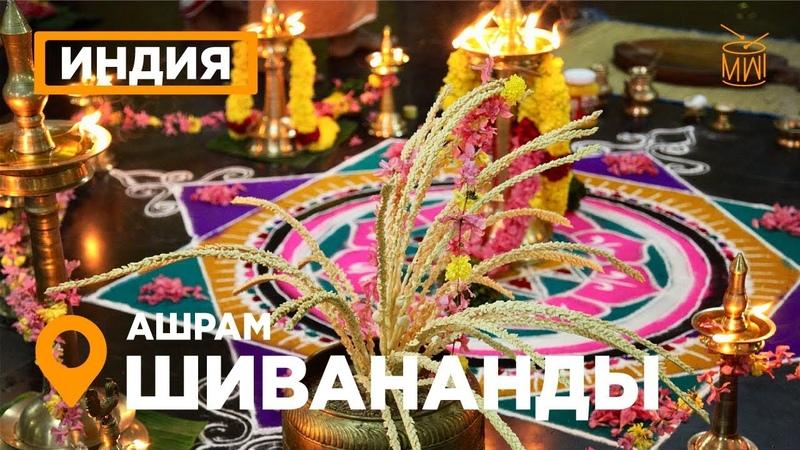 Маха Шиваратри в Шивананада Ашраме Керала Индия театр Катхакали йога тур храм Кали skazkin mw i