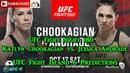 UFC On ESPN 38 UFC Fight Island 6 Katlyn Chookagian vs Jessica Andrade Predictions EA Sports UFC 4