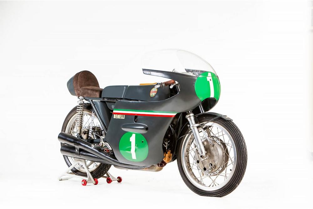 Мотоцикл Benelli 250 GP ушел с молотка за 149 500 фунтов