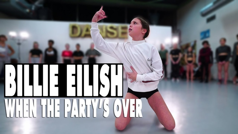 Billie Eilish when the party's over Contemporary Dance Choreography Sabrina Lonis