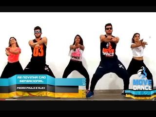 As Novinha Tão Sensacional - Pedro Paulo & Alex - Coreografia Move Dance Brasil