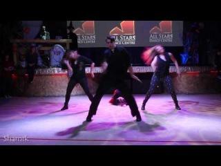 Woodkid -- Run Boy Run. Jazz funk  Show  by Dima Maslennikov. All Stars Hellowen 2013
