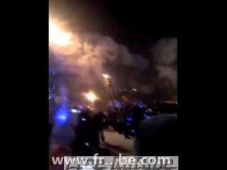 Факел поджег фекалоносца - Олимпиада 2014 Сочи 28 ноября 2013 года