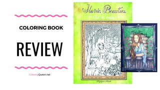 Slavic Beauties  Cut & Color Coloring Book Review - Krystyna Nowak