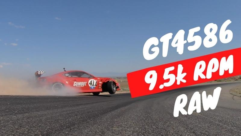 GT4586 On Limiter RAW 9 5K RPMS